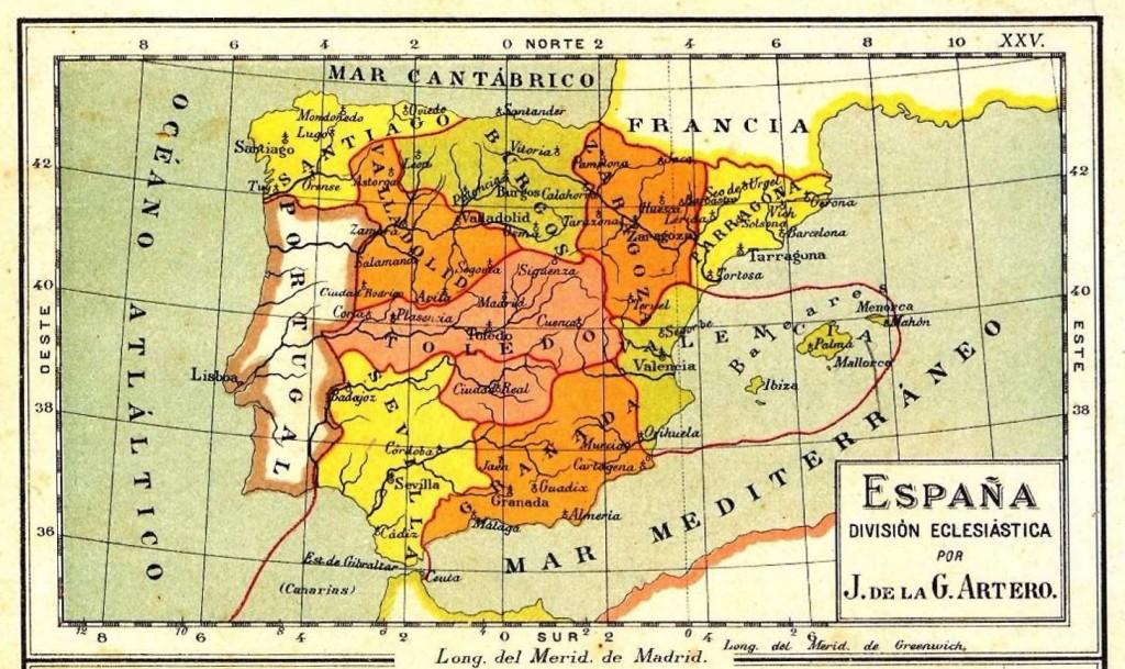 mapa eclesiatico