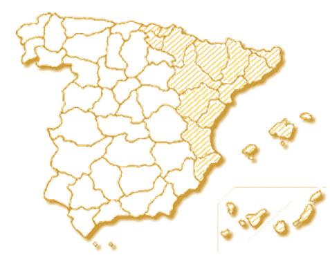 Las provincias donde se realizó el Catastro de Ensenada