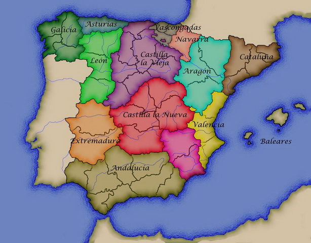 Regiones de España 1833-1978